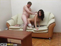 Nylons Sex at the Second Date
