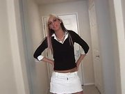 Fresh nubile chris shows this babe isnt as virginal as that babe may look