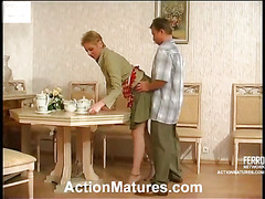 Alice&Adrian horny mommy in action