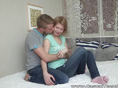 Teeny surprises with great fuck