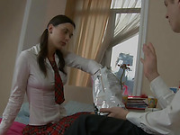 Desirous legal age teenager schoolgirl
