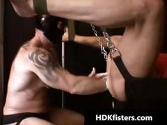 Extreme hardcore gay fisting part4