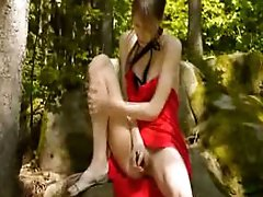 garden forest masturbation