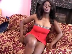 Hairy Ebony Slut Cookie Gets Fucked Hard and Then Facialized