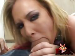 Hottie Sasha Knox gets anal attention.