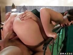 Sexy Doctor Copulates Patient