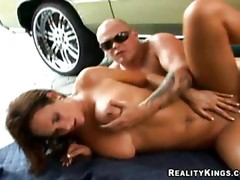 Kittie getting fucked mount and doggie style..