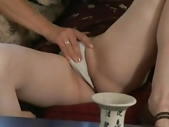 Melissa Monet grinds pussy with her horny girlfriend
